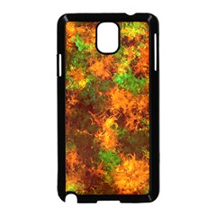 Squiggly Abstract F Samsung Galaxy Note 3 Neo Hardshell Case (black)
