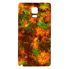 Squiggly Abstract F Galaxy Note 4 Back Case