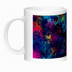 Squiggly Abstract E Night Luminous Mugs