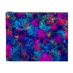 Squiggly Abstract E Cosmetic Bag (xl)