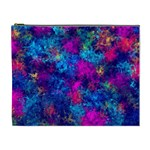Squiggly Abstract E Cosmetic Bag (XL) Front