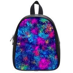 Squiggly Abstract E School Bag (small)