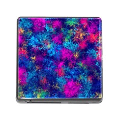 Squiggly Abstract E Memory Card Reader (square)
