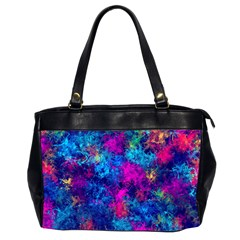 Squiggly Abstract E Office Handbags (2 Sides)