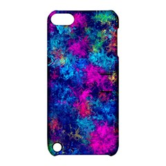 Squiggly Abstract E Apple Ipod Touch 5 Hardshell Case With Stand