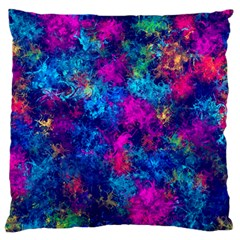 Squiggly Abstract E Standard Flano Cushion Case (one Side)
