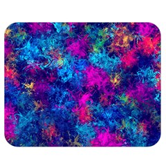 Squiggly Abstract E Double Sided Flano Blanket (medium)