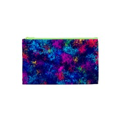 Squiggly Abstract E Cosmetic Bag (xs)