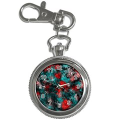 Squiggly Abstract D Key Chain Watches
