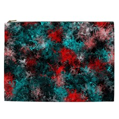 Squiggly Abstract D Cosmetic Bag (xxl)
