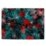 Squiggly Abstract D Cosmetic Bag (XXL)  Front