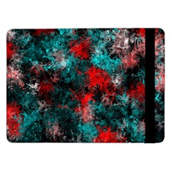 Squiggly Abstract D Samsung Galaxy Tab Pro 12 2  Flip Case