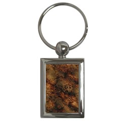 Wonderful Marbled Structure A Key Chains (rectangle)