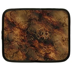 Wonderful Marbled Structure A Netbook Case (large)