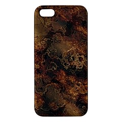 Wonderful Marbled Structure A Apple Iphone 5 Premium Hardshell Case
