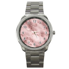 Wonderful Marbled Structure E Sport Metal Watch