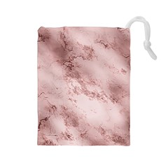 Wonderful Marbled Structure E Drawstring Pouches (large)