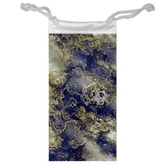 Wonderful Marbled Structure D Jewelry Bag