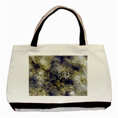Wonderful Marbled Structure D Basic Tote Bag