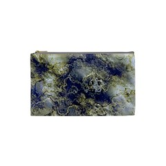 Wonderful Marbled Structure D Cosmetic Bag (small)