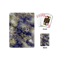 Wonderful Marbled Structure D Playing Cards (mini)