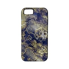 Wonderful Marbled Structure D Apple Iphone 5 Classic Hardshell Case (pc+silicone)
