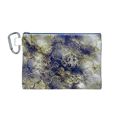 Wonderful Marbled Structure D Canvas Cosmetic Bag (m)