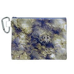 Wonderful Marbled Structure D Canvas Cosmetic Bag (xl)