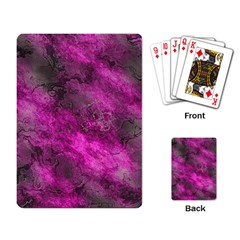 Wonderful Marbled Structure C Playing Card