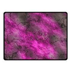 Wonderful Marbled Structure C Double Sided Fleece Blanket (small)