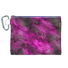 Wonderful Marbled Structure C Canvas Cosmetic Bag (xl)