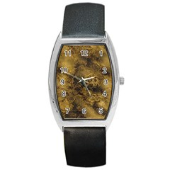 Wonderful Marbled Structure B Barrel Style Metal Watch