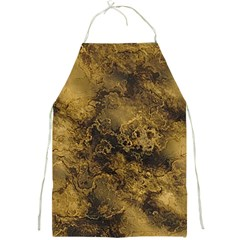 Wonderful Marbled Structure B Full Print Aprons