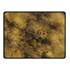 Wonderful Marbled Structure B Double Sided Fleece Blanket (small)