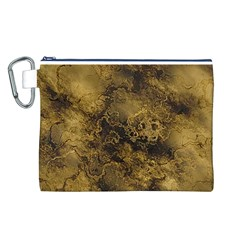 Wonderful Marbled Structure B Canvas Cosmetic Bag (l)