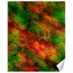 Wonderful Marbled Structure F Canvas 16  X 20