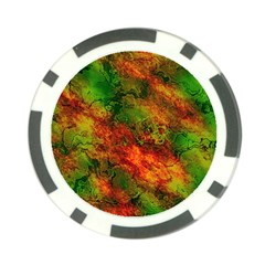 Wonderful Marbled Structure F Poker Chip Card Guard
