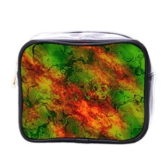 Wonderful Marbled Structure F Mini Toiletries Bags