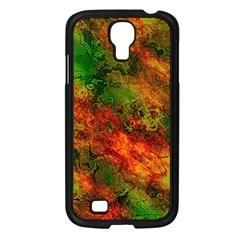 Wonderful Marbled Structure F Samsung Galaxy S4 I9500/ I9505 Case (black)