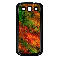 Wonderful Marbled Structure F Samsung Galaxy S3 Back Case (black)