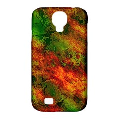 Wonderful Marbled Structure F Samsung Galaxy S4 Classic Hardshell Case (pc+silicone)