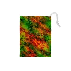 Wonderful Marbled Structure F Drawstring Pouches (small)