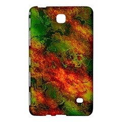 Wonderful Marbled Structure F Samsung Galaxy Tab 4 (7 ) Hardshell Case