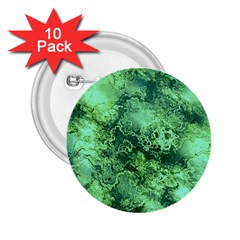 Wonderful Marbled Structure I 2 25  Buttons (10 Pack)