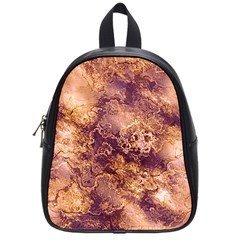 Wonderful Marbled Structure I School Bag (small)