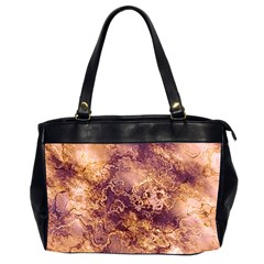 Wonderful Marbled Structure I Office Handbags (2 Sides)