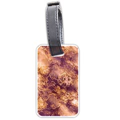 Wonderful Marbled Structure I Luggage Tags (one Side)