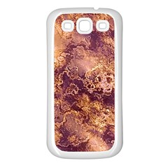 Wonderful Marbled Structure I Samsung Galaxy S3 Back Case (white)