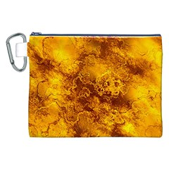 Wonderful Marbled Structure H Canvas Cosmetic Bag (xxl)