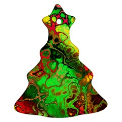 Awesome Fractal 35i Christmas Tree Ornament (two Sides)